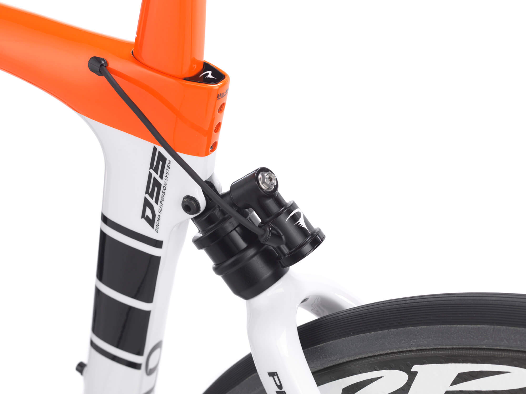 Pinarello Dogma K10S Disk chooses HiRide suspension